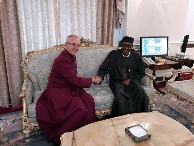 Arch-Bishop Justin Welby-PMB