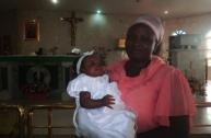 REGINA FAVOUR SPLENDOUR YAKUBU BAPTISMAL PICTURES - Baptised at St. Martin De Porres catholic Church, Agric Ojo Lagos by Rev. Fr. Yusuf on 2nd December, 2017
